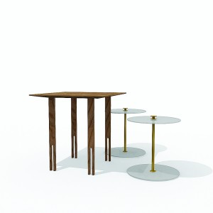 threeinone side table